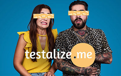 Testalize.me TV commercial en tagon